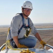 man on windmill careers workforce southern idaho economic development